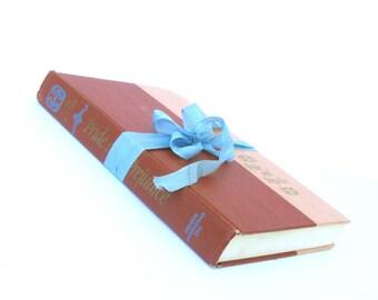 Pride and Prejudice by Jane Austen, Nelson Doubleday Inc, Peach Jane Austen Book, Vintage Jane Austen Book, Old Austen Book, Austen Wedding