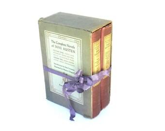The Complete Novels of Jane Austen, Pride and Prejudice, 1950 Random House Edition,Old Jane Austen Book,Vintage Austen Books, Austen Wedding