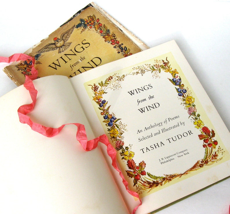 Wings From The Wind An Anthology of Poems Selected and image 0