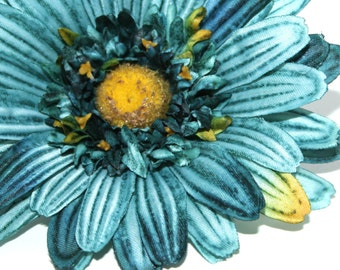 Flower Crown Embellishment Flower The Blue Hutch Wedding Millinery Flowers Artificial Daisy Red Gerbera Daisy Hair Accessory