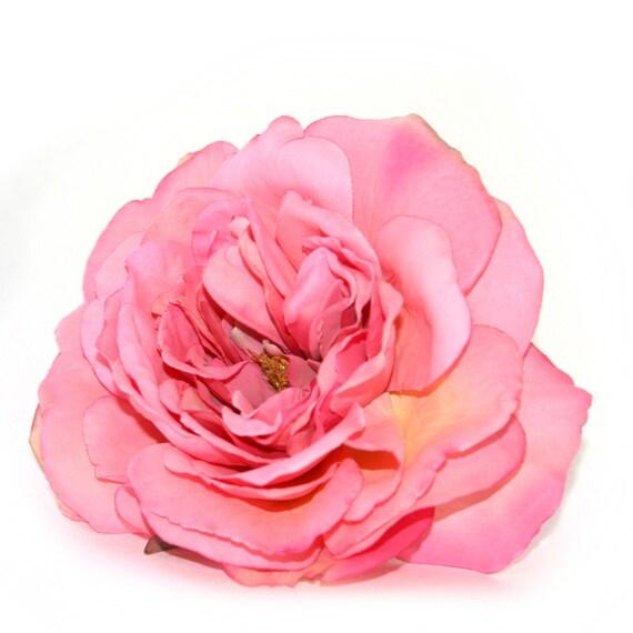 1 Large Pink Sophia Rose Artificial Flower Pre Order Etsy