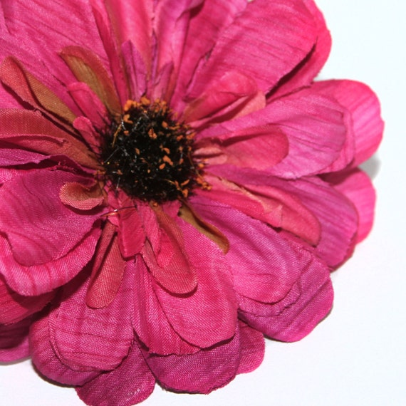 Violet pink dry look zinnia pick artificial flowers silk flowers violet pink dry look zinnia pick artificial flowers silk flowers from silkinspirations on etsy studio mightylinksfo