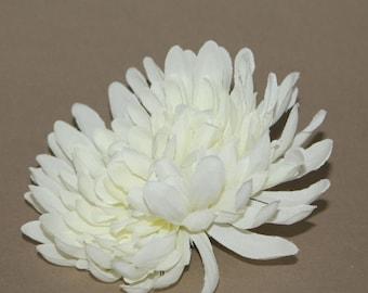 Silk chrysanthemums etsy cream chrysanthemum artificial flower silk flower mightylinksfo