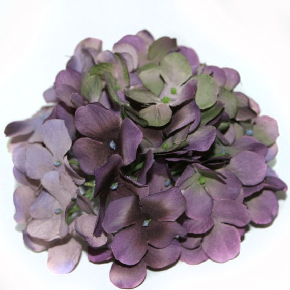 Lilac sage hydrangea bunch full head artificial flowers etsy image 0 mightylinksfo