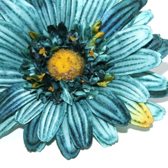 Azul Order Gerbera Del Flores Turquesa Textura ArtificialesDe Seda Pre Margarita 5qRjL4A3