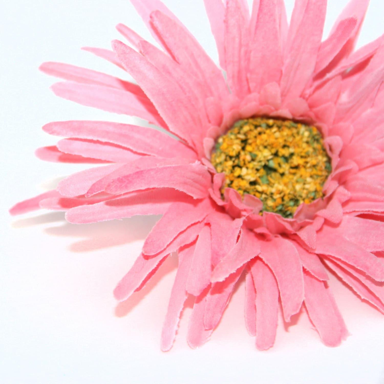 Pink Gerbera Spider Daisy Artificial Flowers Silk Flower Etsy