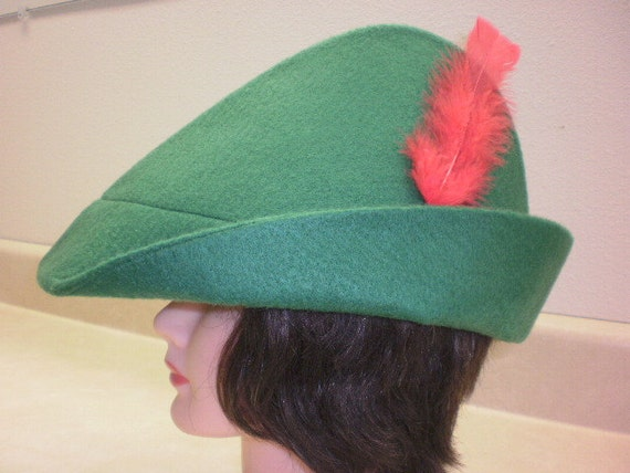 Adult Peter Pan Hat | Etsy