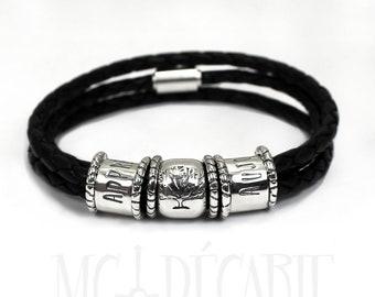 Leather / rope bracelets