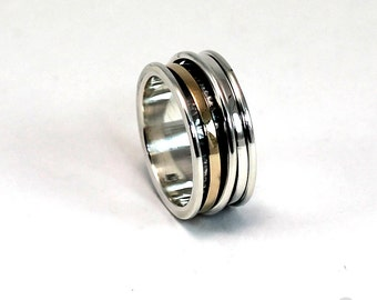 Silver & gold spinners