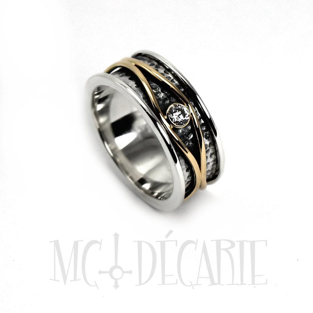 Gallery Photo: Wave Pattern Wedding Ring I Do At Websimilar.org