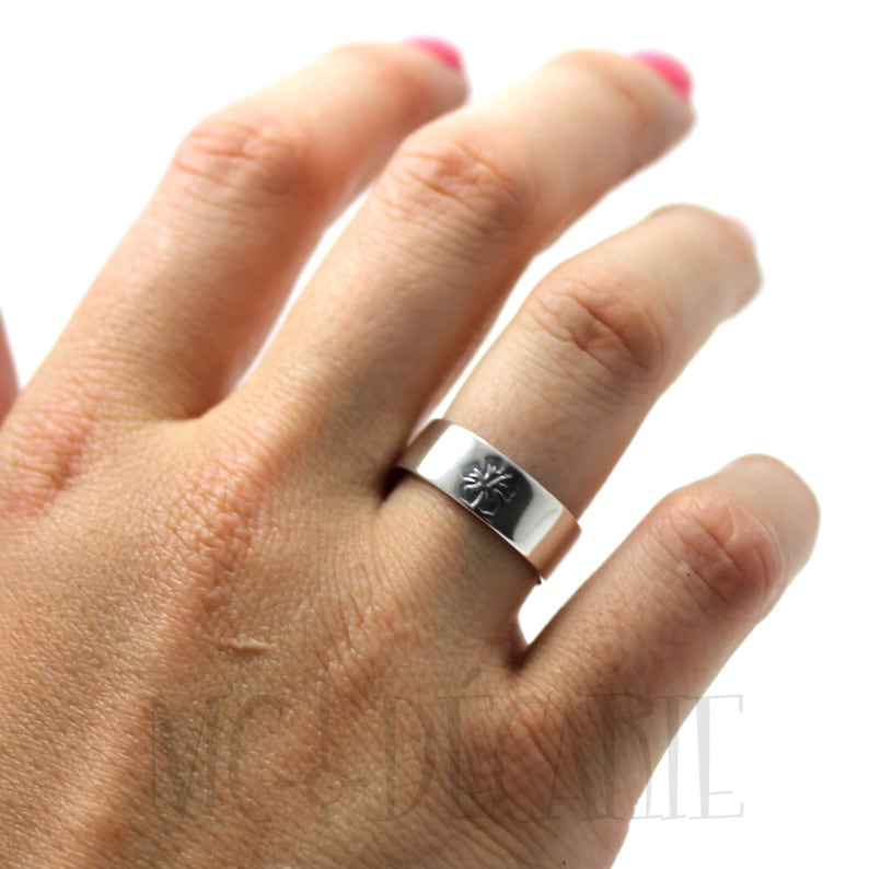 2 ring band set wedding band His /& Hers: 7mm wedding rings 10mm ring band set 2 engravings included on each ring #EJ126 personalized