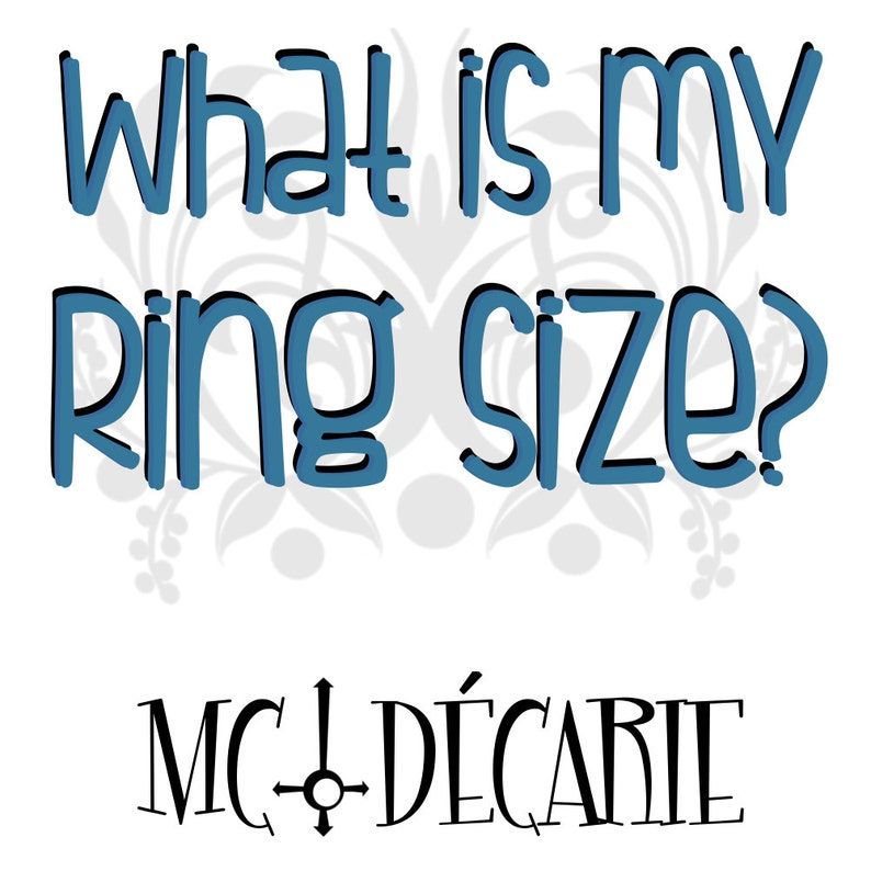 RING SIZE Tips & Tricks: Buy a plastic ring-sizing gauge or image 0