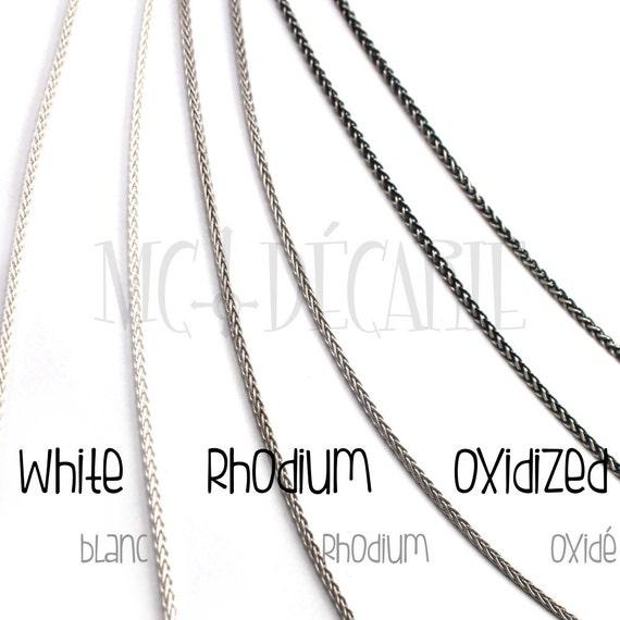 D//c plat byzantin Chaîne Pour Hommes 6 mm Solide Argent Sterling .925 8,9,20,22 pouces