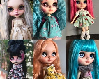Comission Spot for Ooak Blythe Doll by Blackbird Blythe