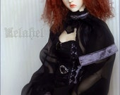 Ooak black and metallic p...