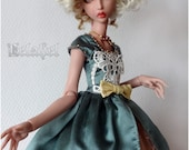 Ooak blue and pink outfit...