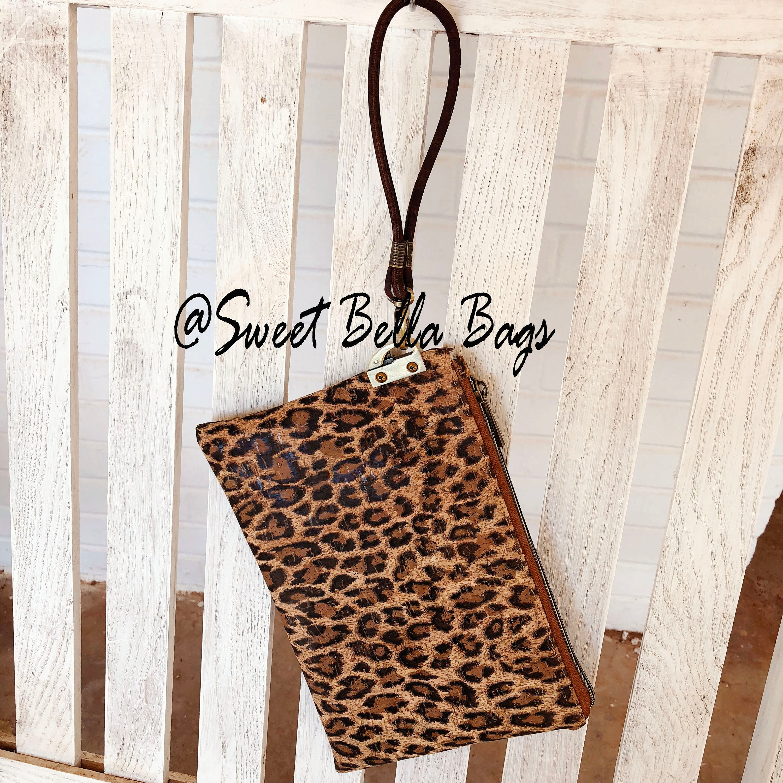 c935aa3f7caa The Tiffany Clutch Bag Made With Cheetah Cork