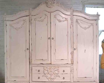 Superbe More Colors. French Armoire Painted Cottage Chic Shabby ...