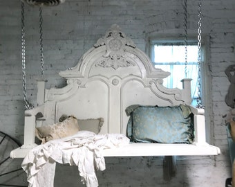 Painted Cottage Shabby French Romantic Epic Porch Swing