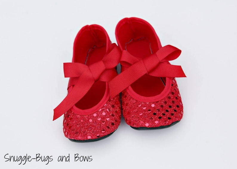 06dd2622b37 Ruby Red Slippers Ruby Slippers Wizard of Oz Dorothy Shoes