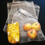 Produce Bags with Carrying Pouch | Reusable | Eco Friendly