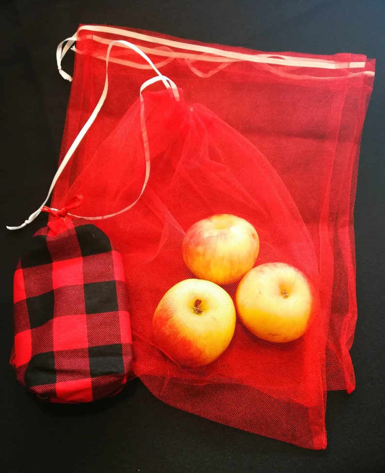 Produce Bags with Carrying Pouch  Reusable  Eco Friendly image 0