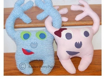 PDF Pattern: Happy Huggers Softies