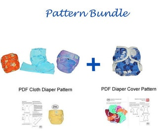 PDF Pattern Bundle - Cloth Diaper and Diaper Cover