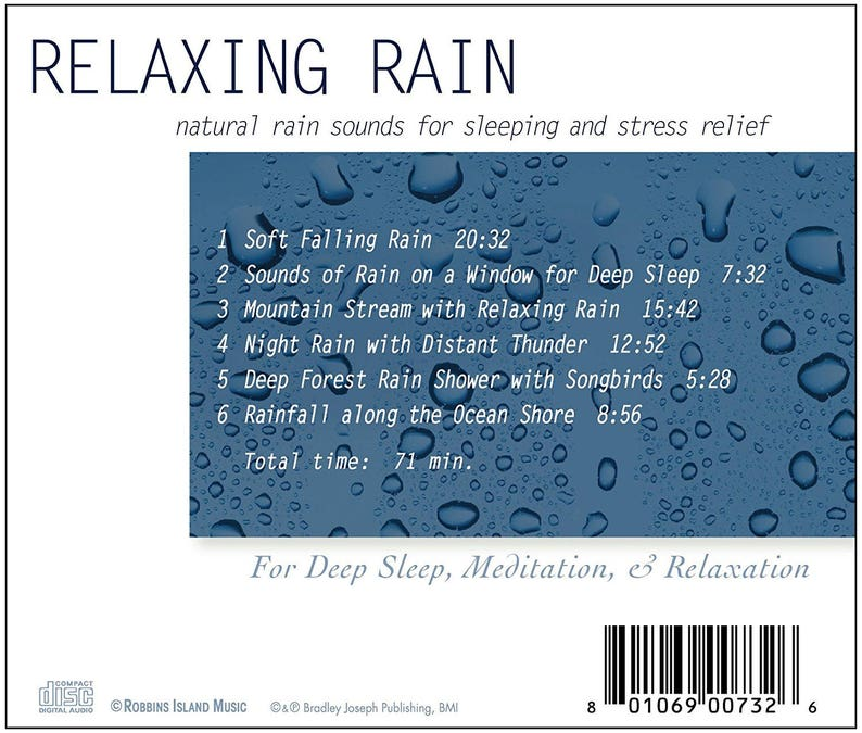 Rain Sounds (CD)
