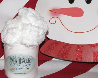 cloud slime north pole Santas Nice List Certificate card marshmallow snow charm included Holiday winter Christmas