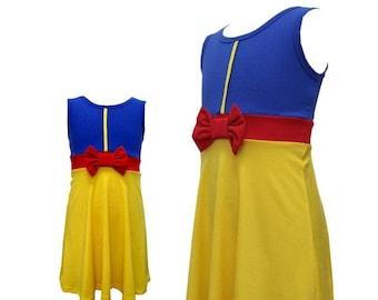 Adult women teen Snow white  Halloween costume inspired  dress XXL