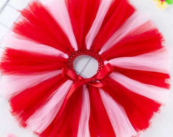 Valentines day Birthday Marathon running tutu adult women teen jr  girl baby red Dance Ballet