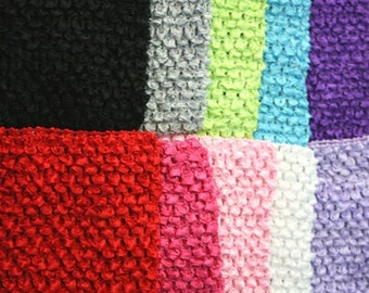 """new Girls 11"""" x 9""""  lined Crochet tutu top tube many  color you choose size 4-7 years"""