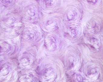 "Fabric  Photo Floor Prop 36"" x 36"" baby craft blanket quilt 1 yd X 1 yard FAUX ROSE FUR lavender"