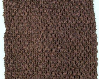 "child adult teen Crochet tutu top elastic tube 1-16 years DIY flower girl wedding dress birthday costume brown 6"" 7"" 8"" 10"" 12"" 14"""