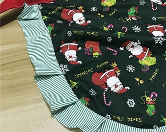 Holiday Christmas women mom teen apron one size