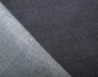 3225ee6044cd stretch blue denim woven textile medium weight by the yard spandex 13oz