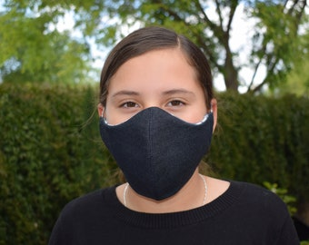 SALE! face mask reusable 2 layers lined cotton SHIPS FREE