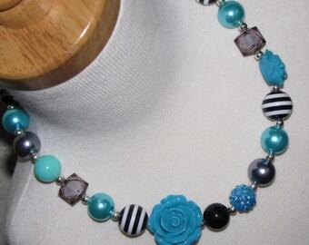 new Acrylic chunky beads bubblegum gumball jewlery girl Necklace Birthday elsa rose Free shipping
