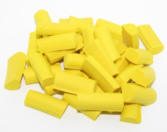Squishy Foam Chunks Great For Slime Foam java chips yellow .5oz (12 colors) fish bowl