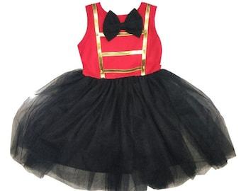 child showman circus ring master Halloween costume inspired  dress 2 - 8 yrs