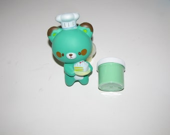 squishy and slime  chocolate mint scented surprise charm bear