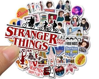 10 piece RANDOM Vsco Sticker stranger things Kawaii for Laptop Case Car Skateboard Motorcycle Girl Kids Children Cool