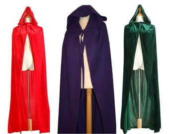 Sanderson Sisters Costumes Capes (Hocus Pocus Witches) Halloween