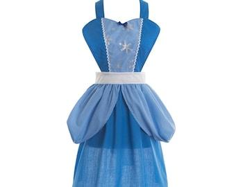 women cinderella Tutu Halloween costume inspired apron tutu dress teen adult