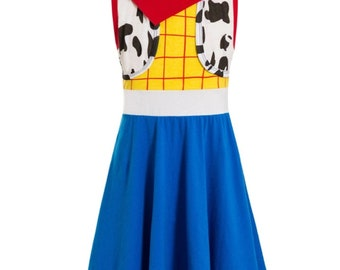 child toy story Halloween costume inspired  dress 7 yrs