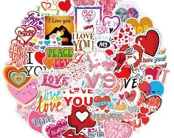 45 piece Vsco love hearts girl pretty summer Sticker Inspirational Life Quotes Waterproof DIY Laptop Room Scrapbooking Motto Graffiti Decal
