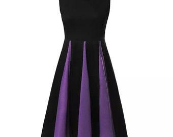 Adult women teen Evil queen Maleficent ursula  Halloween costume inspired  dress XS S M XL