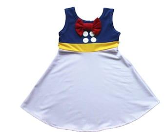 child princess duck Halloween costume inspired  dress 5 yrs