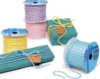 50 yards Bi-Colored Cord rope ribbon Trim favors decor SEWING craft  bolt yards